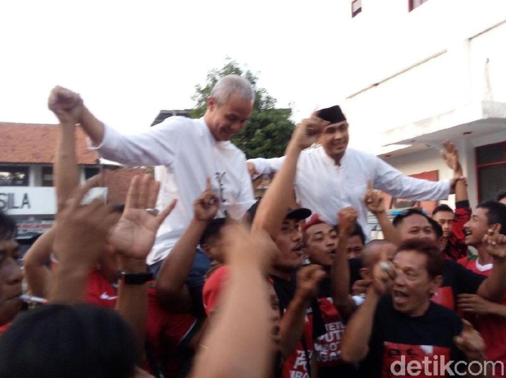 Hasil Rekapitulasi KPU Jateng, Ganjar-Yasin Unggul