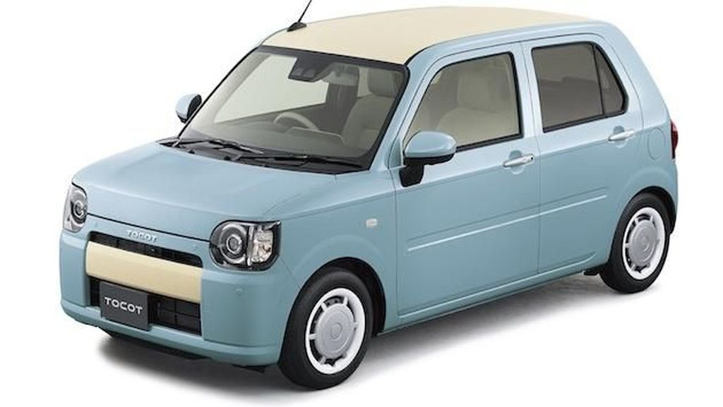 Mobil Retro Mungil yang Lucu dari Daihatsu