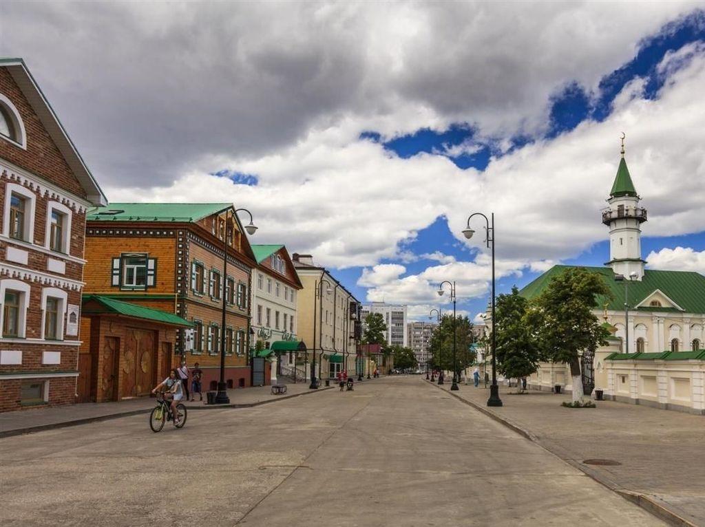 Foto: Fans Jerman, Liburan di Kazan Saja Yuk!