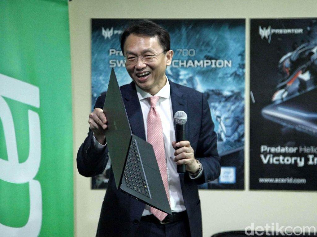Penampakan Laptop Gaming Terbaru Acer yang Gahar