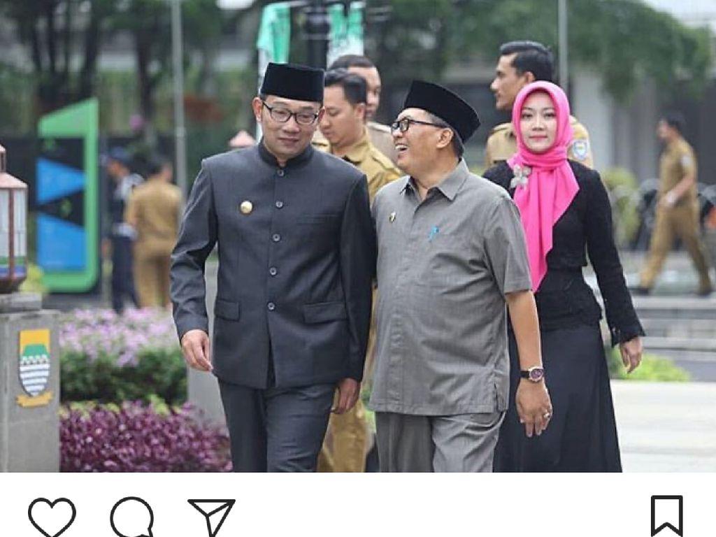 Oded Menang Quick Count, Ridwan Kamil: Lanjutkan Bandung Juara