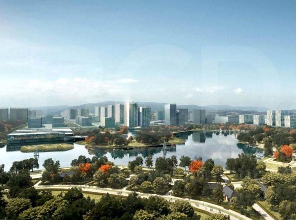 Filipina Bangun Manila Baru Senilai Rp 196 Triliun