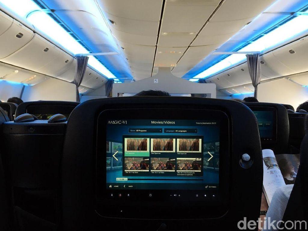 Foto: Kelas Ekonomi Rasa Bisnis Japan Airlines