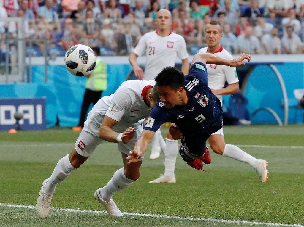 Jepang vs Polandia Imbang 0-0 di Paruh Pertama