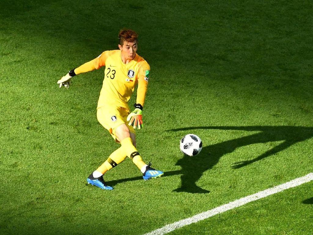 Kiper K-Pop dengan Penyelamatan Terbanyak Ketiga di Piala Dunia 2018