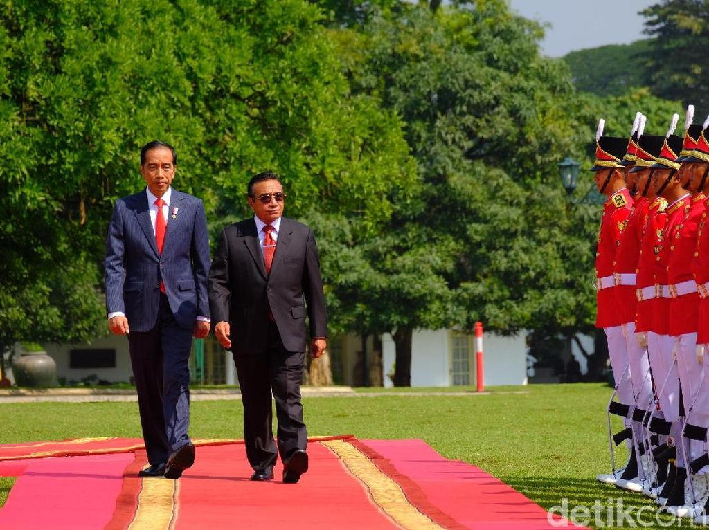Presiden Timor Leste Bertemu Jokowi di Istana Bogor