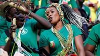 Yel-yel dukungan untuk Senegal juga menggema di Samara Arena. Reuters/Carlos Garcia Rawlins.