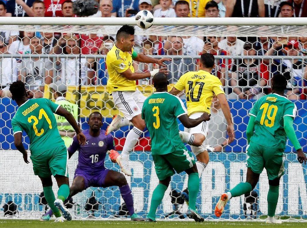 Babak Pertama, Senegal dan Kolombia Seri Tanpa Gol