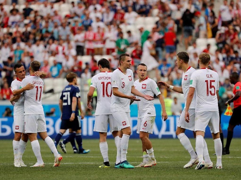 Hasil Pertandingan Piala Dunia 2018: Jepang vs Polandia Skor 0-1