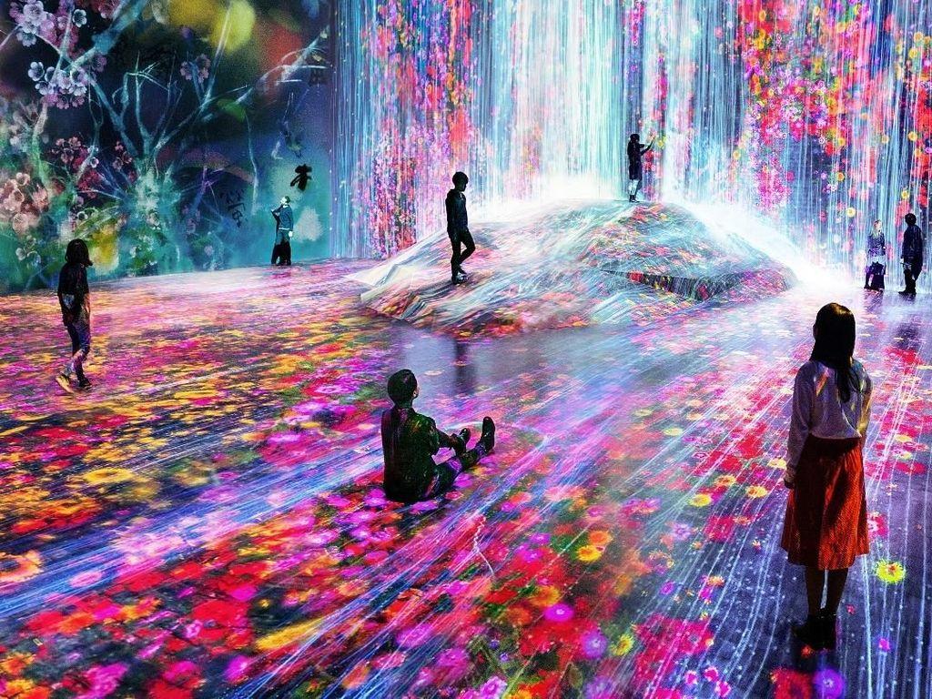 Jepang Memang Canggih, Punya Museum Digital Pertama di Dunia