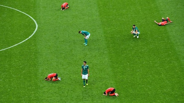Rasa Hampa di Balik Kemenangan Korea Selatan atas Jerman