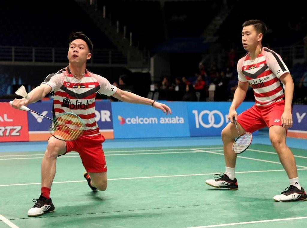 Kevin/Marcus Maju ke Perempatfinal Malaysia Terbuka