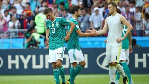 Piala Dunia Suram Jerman: Finis Juru Kunci, Produktivitas Terendah