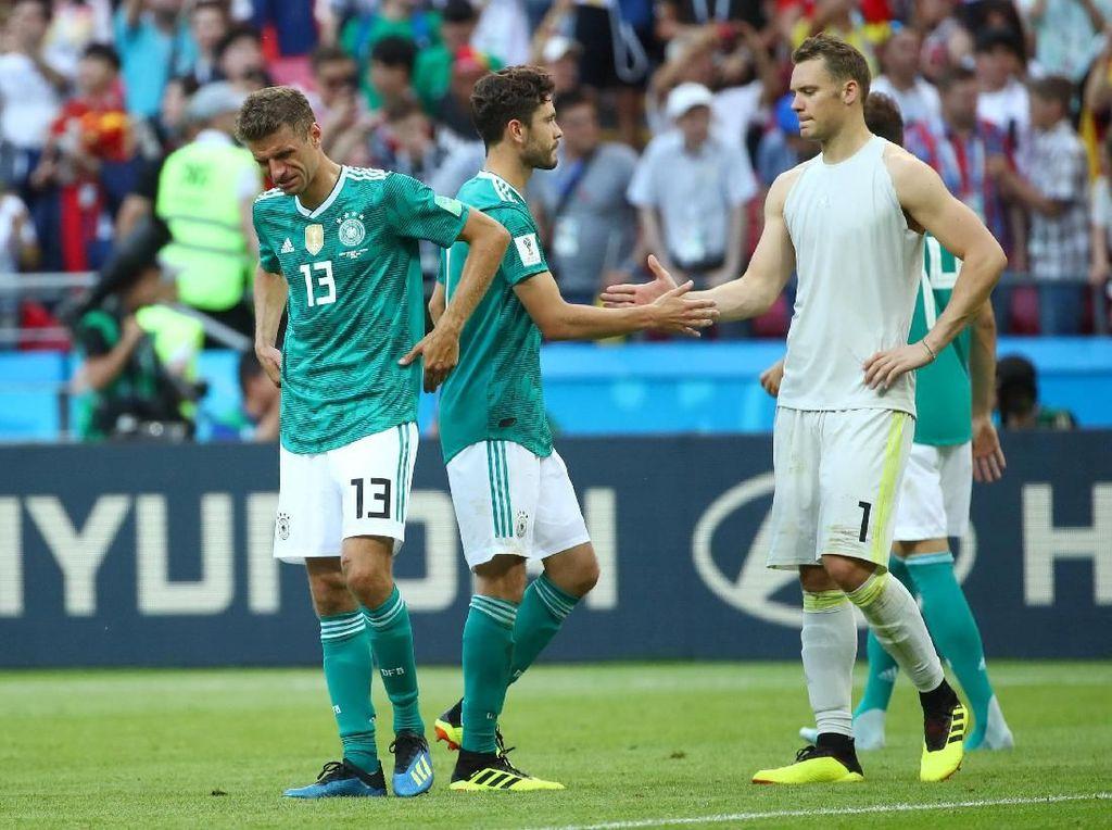 Saatnya Jerman Move On dari Kegagalan di Piala Dunia 2018