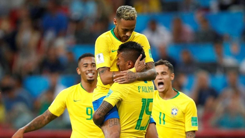 Mantap! Brasil Juara Grup E