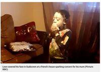 Cerita Alasan Bocah 4 Tahun Pakai Krim Warna Putih di Wajahnya