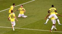 Hasil ini mengantarkan Kolombia menjadi juara Grup H Piala Dunia 2018. Reuters/David Gray.