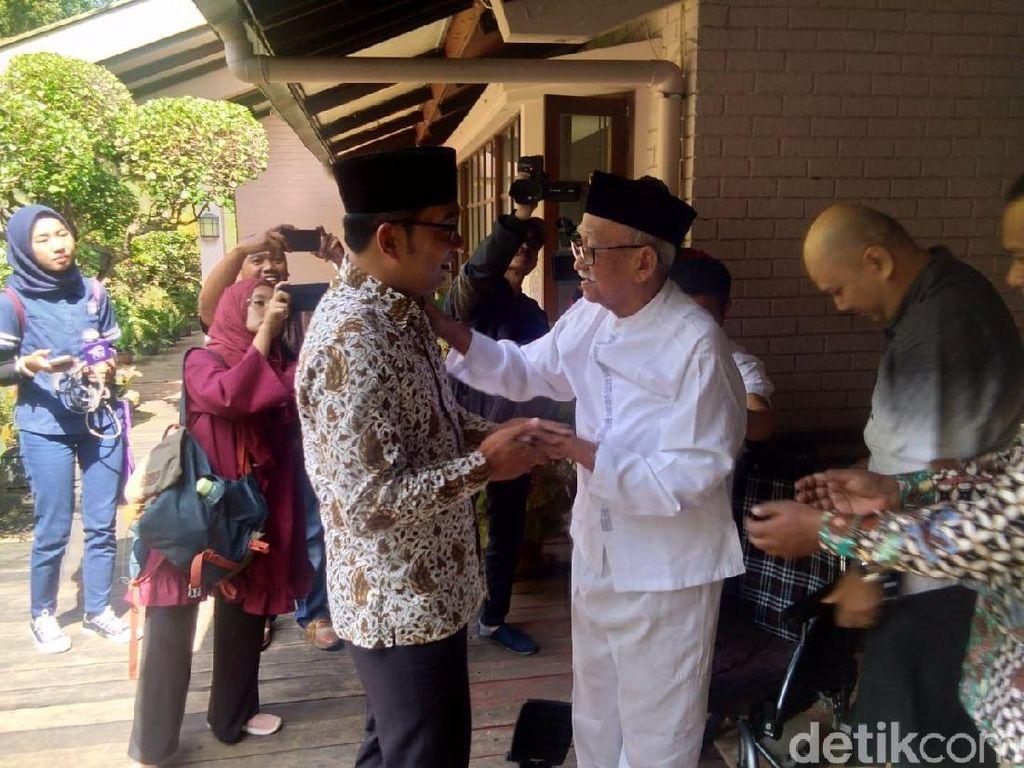 Ridwan Kamil Akui Dukungan Mang Ihin Dongkrak Suaranya