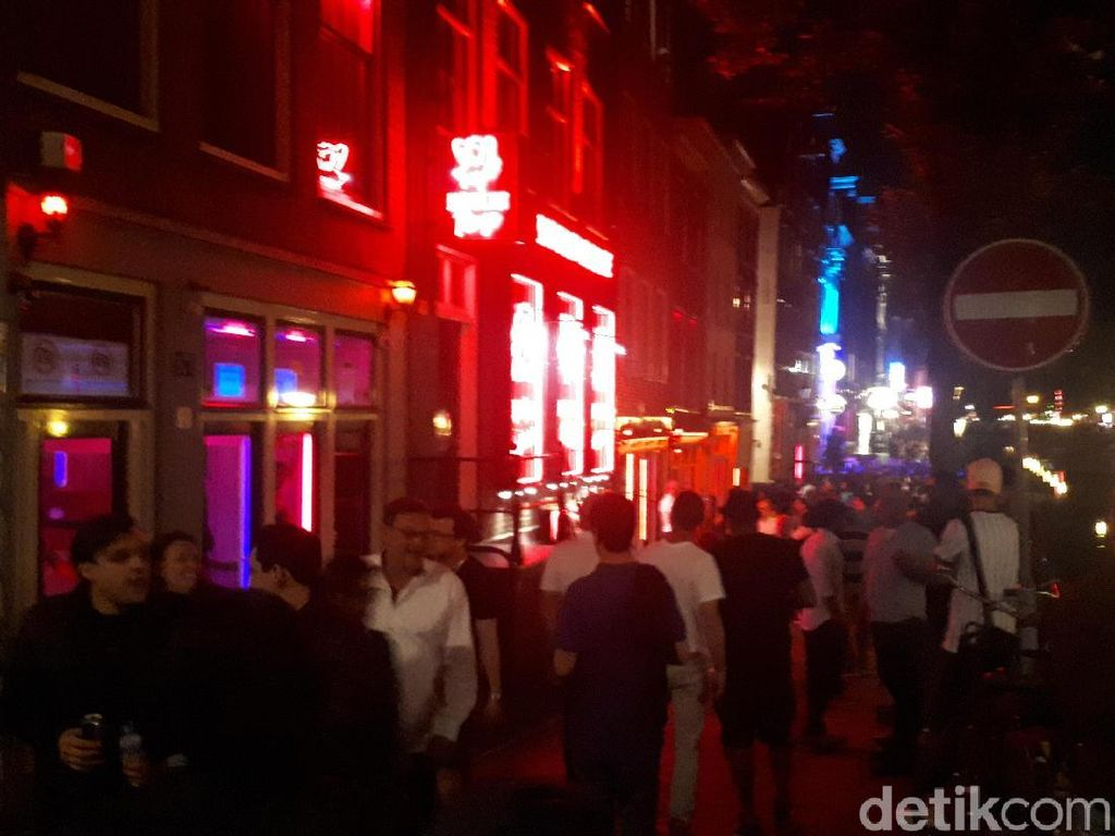 Geliat Red Light District Amsterdam