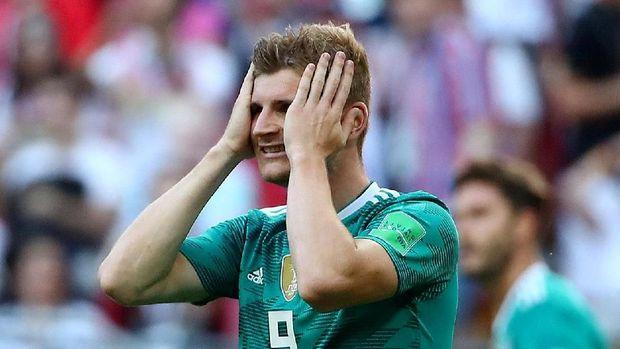 Tersingkirnya Jerman di fase grup jadi kejutan terbesar di Piala Dunia 2018