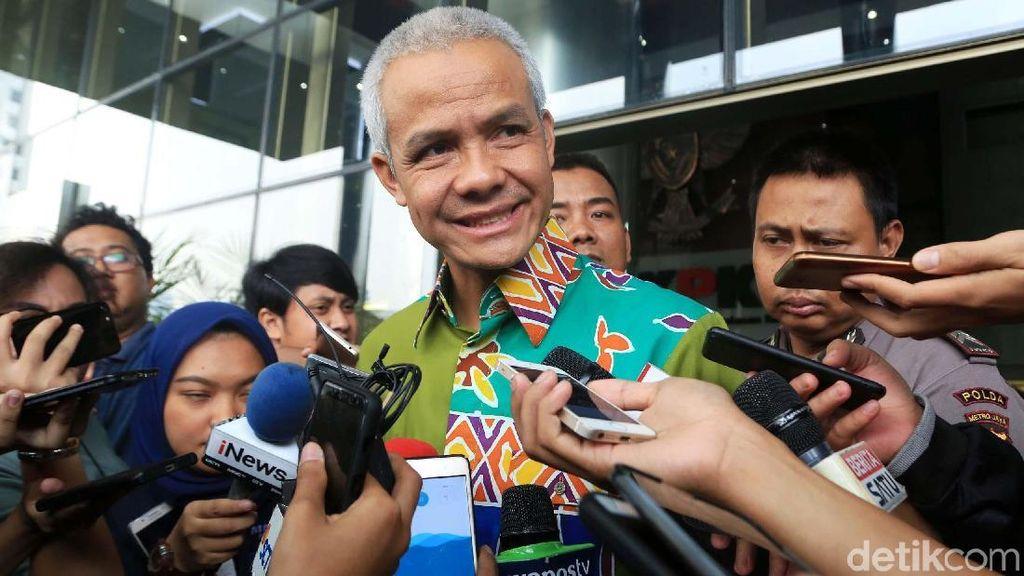 Sehari Setelah Pilkada, Ganjar Pranowo Diperiksa KPK