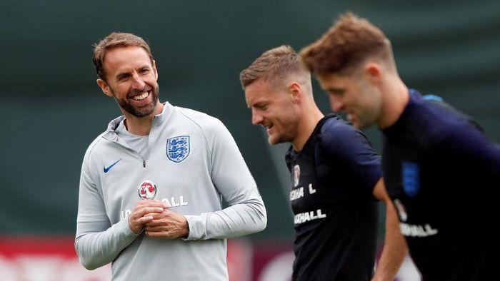 Gareth Southgate memikul harapan Inggris untuk kembali jadi juara Piala Dunua (Lee Smith/Reuters)