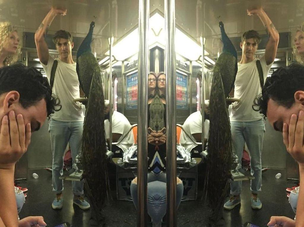 Kejadian Aneh di Kereta Bawah Tanah yang Bikin Speechless
