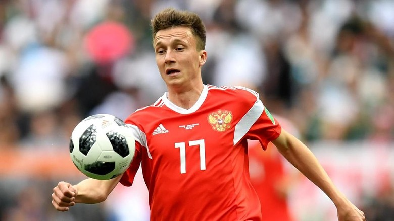 Aleksandr Golovin Resmi Gabung AS Monaco