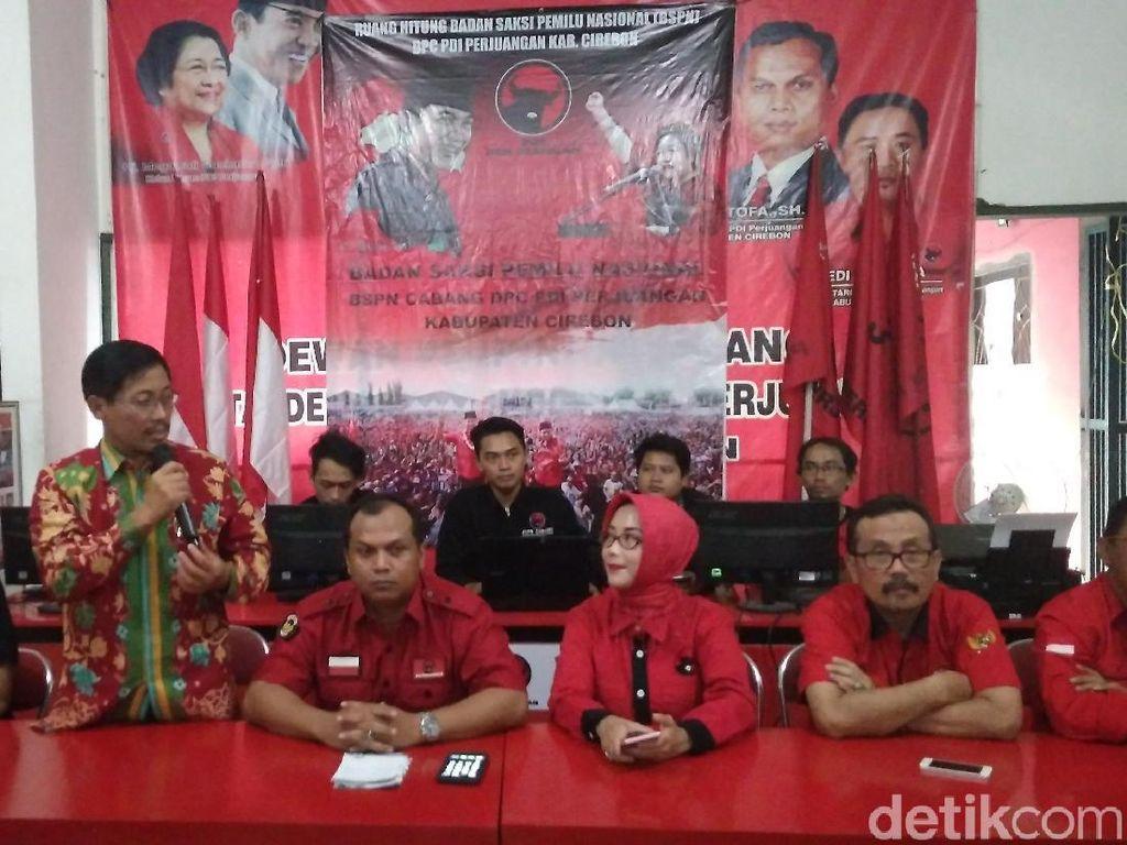 Bikin Real Count Tandingan, Cabup Petahana Cirebon Klaim Menang