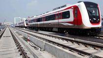LRT Jakarta Siap Beroperasi, Tapi Kapan?