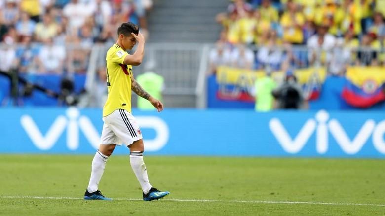 Cedera James Rodriguez Kekhawatiran bagi Kolombia