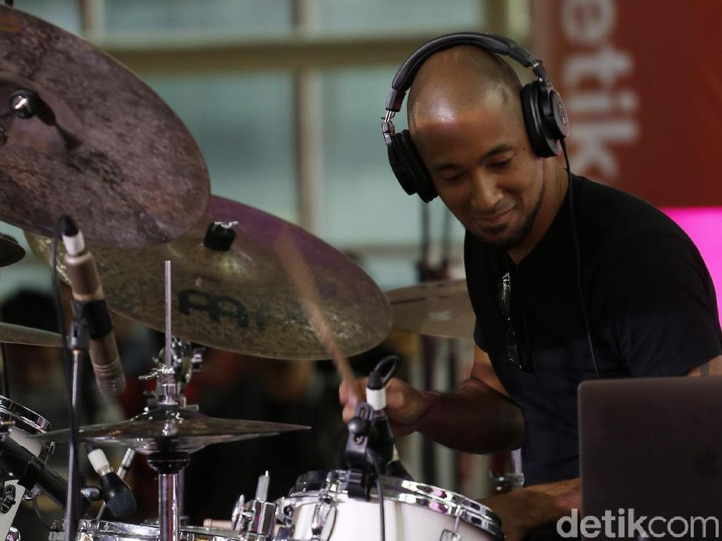 Marcell Siahaan Jadikan Kumpul ID Ajang Temu Sesama Drummer