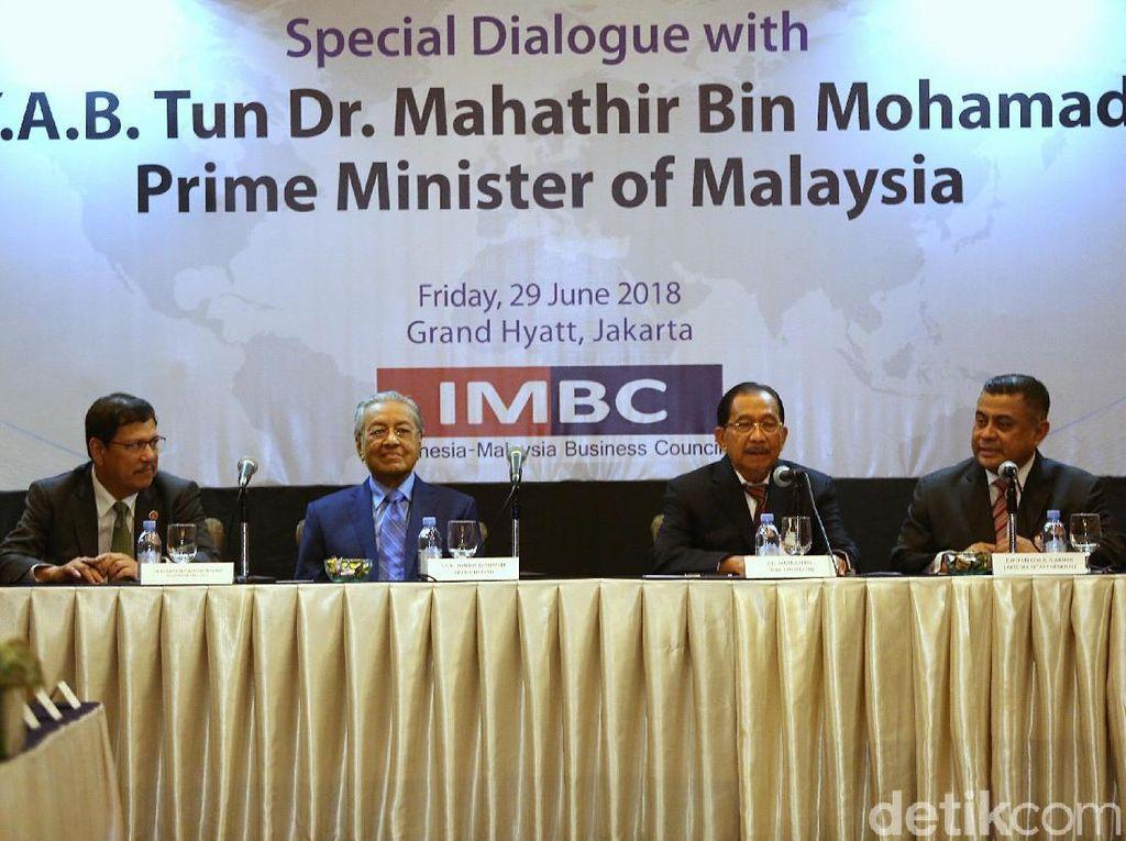 Jumpa Mahathir, Pengusaha RI Lirik Kans Investasi di Malaysia