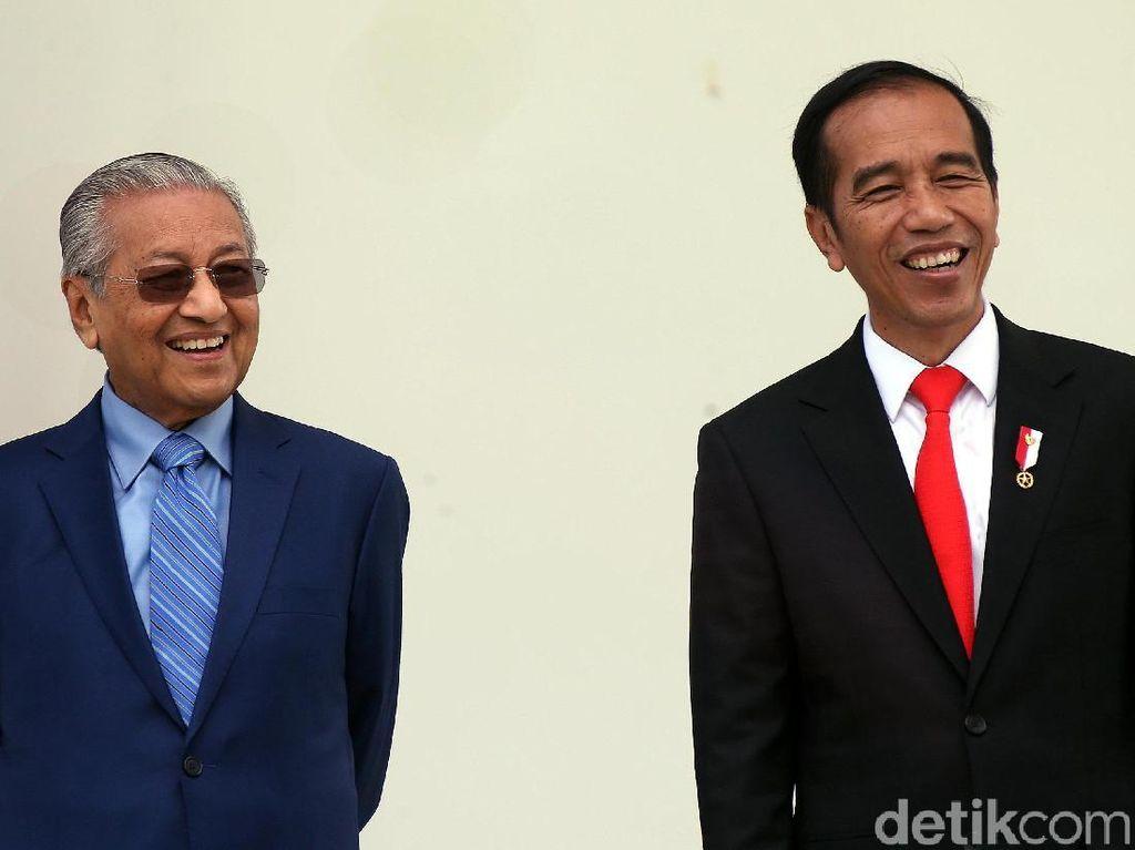 Duet Mahathir-Jokowi Lawan Uni Eropa soal Sawit