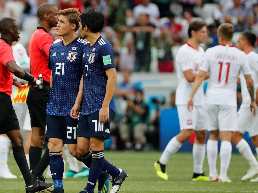 Video: Jengkelnya Pemain Polandia Melihat Jepang Ogah Nyerang