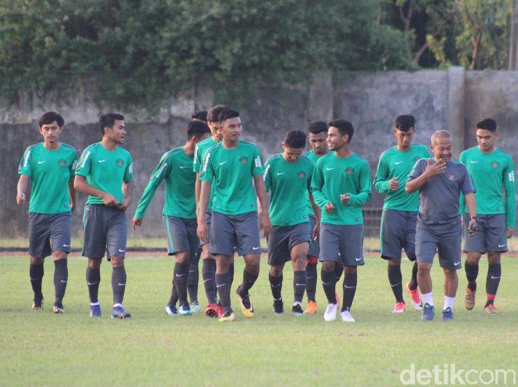 Jelang Piala AFF U-18, Timnas Indonesia Mulai Latihan di Sidoarjo