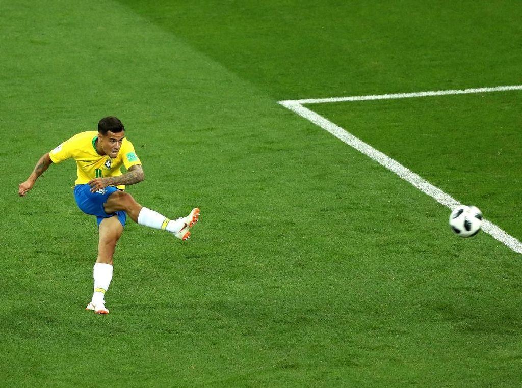 Meksiko Lebih Waspadai Coutinho ketimbang Neymar