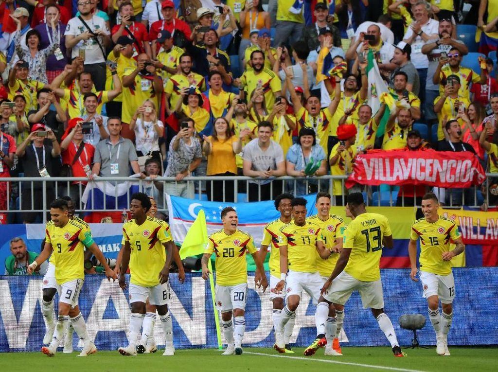 Kolombia Mewaspadai Inggris yang Percaya Diri