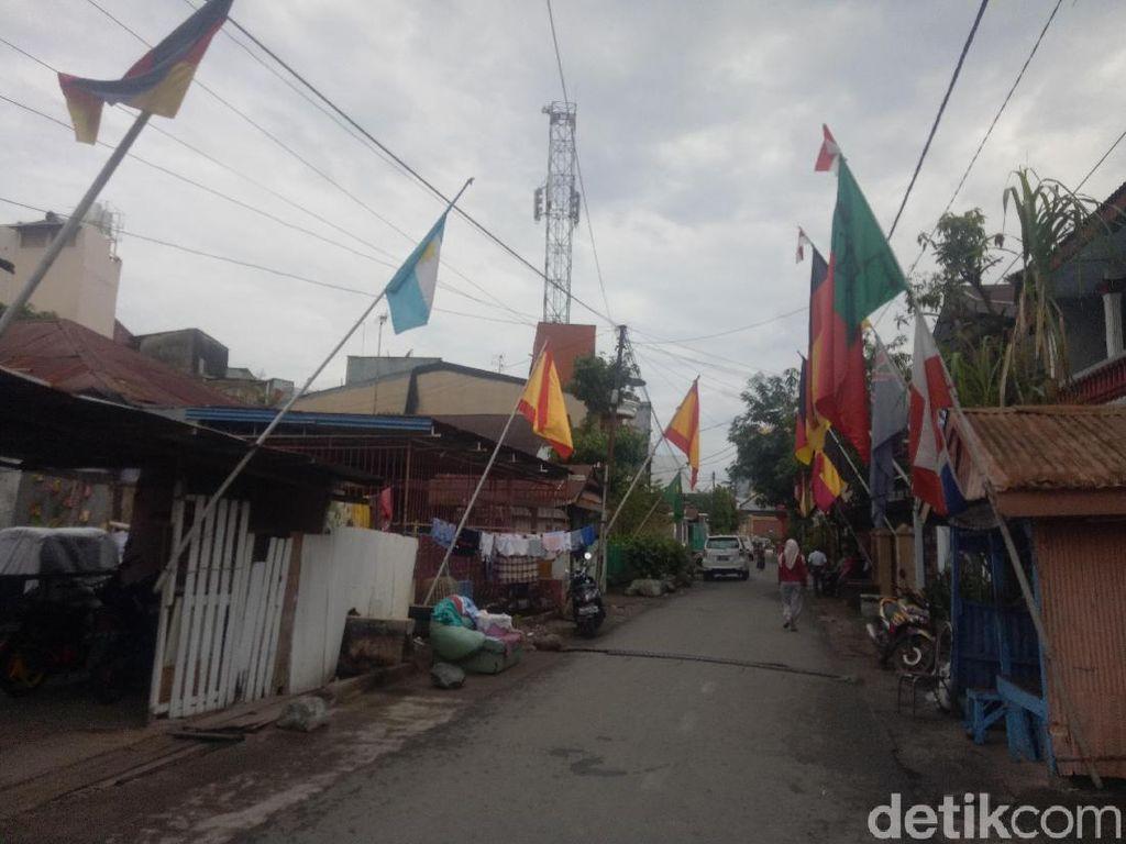 Kampung Piala Dunia di Makassar Ini Punya Tradisi Panjang