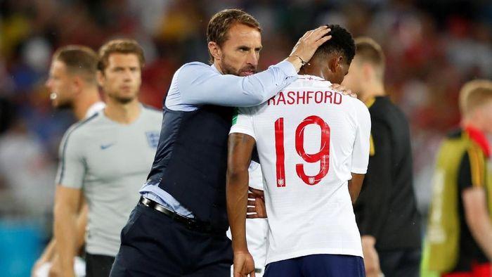 Gareth Southgate percaya Inggris punya kesempatan bagus di Piala Dunia 2018. (Foto: Lee Smith/Reuters)