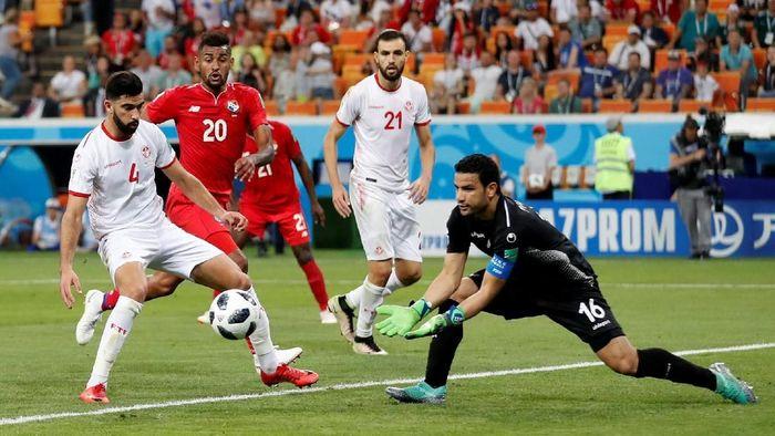 Tunisia akhiri perjalanan di Piala Dunia 2018 dengan kemenangan 2-1 atas Panama. (Foto: Matthew Childs/Reuters)