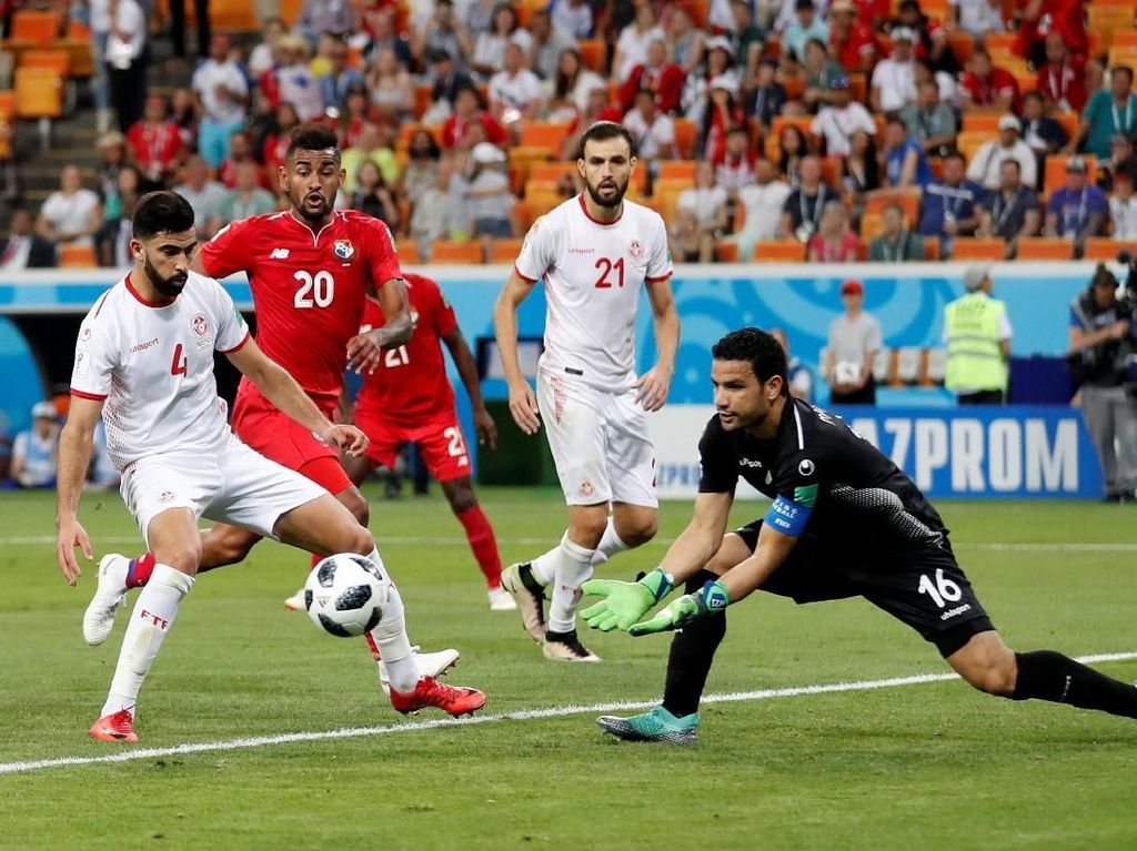 Tunisia Menang 2-1 atas Panama