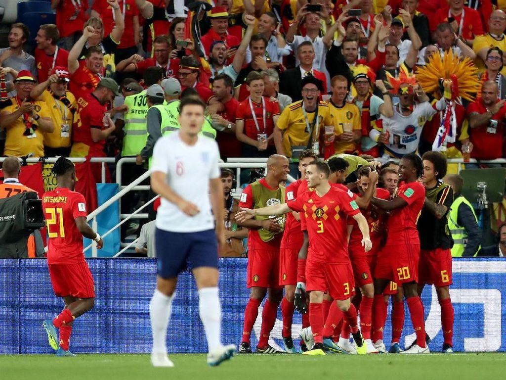 Atasi Inggris, Belgia Jadi Juara Grup G