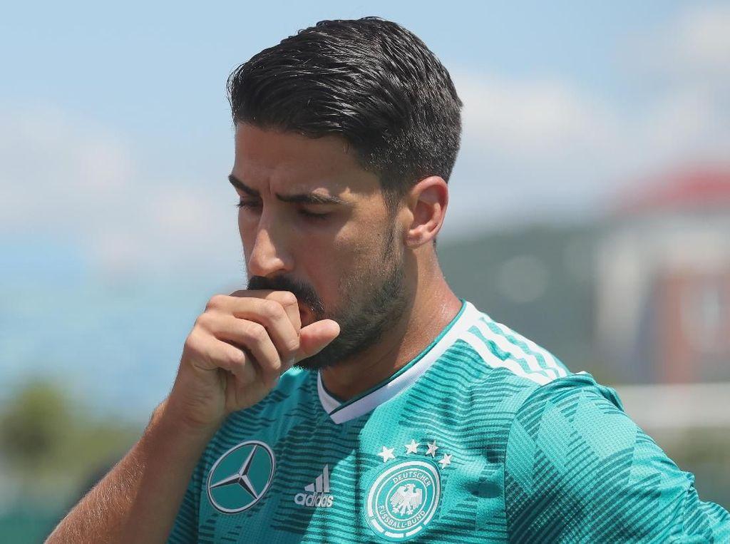 Bersinar di Juventus, Melempem di Piala Dunia, Khedira Jadi Sulit Tidur