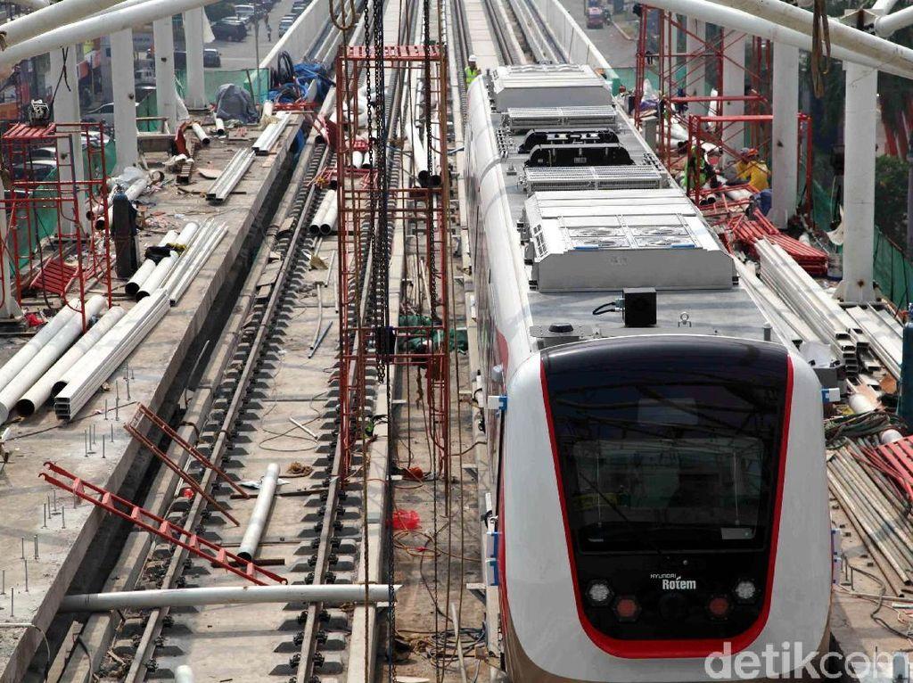 Tiket LRT Jakarta Diusulkan Rp 10.800, Bos Jakpro: Tidak Mahal