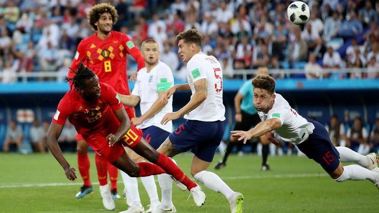 Babak Pertama Usai, Inggris vs Belgia Masih 0-0