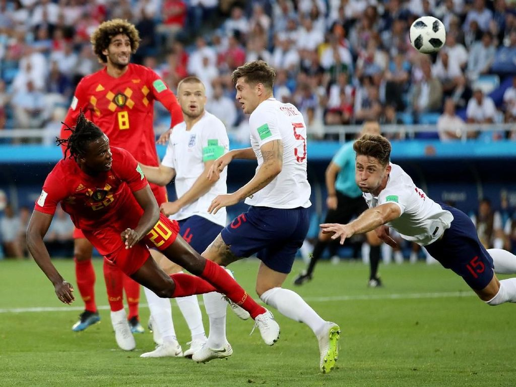 Video Highlights Babak I Inggris Vs Belgia