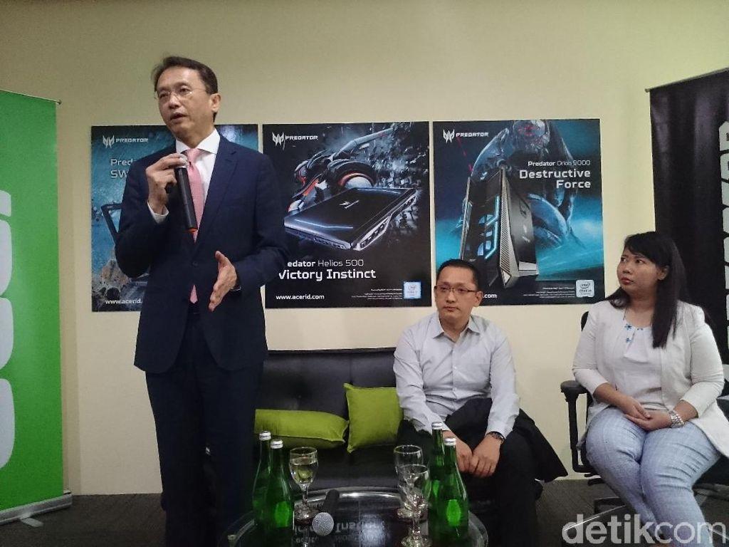 Acer Umbar Strategi Kuasai Bisnis PC di Indonesia
