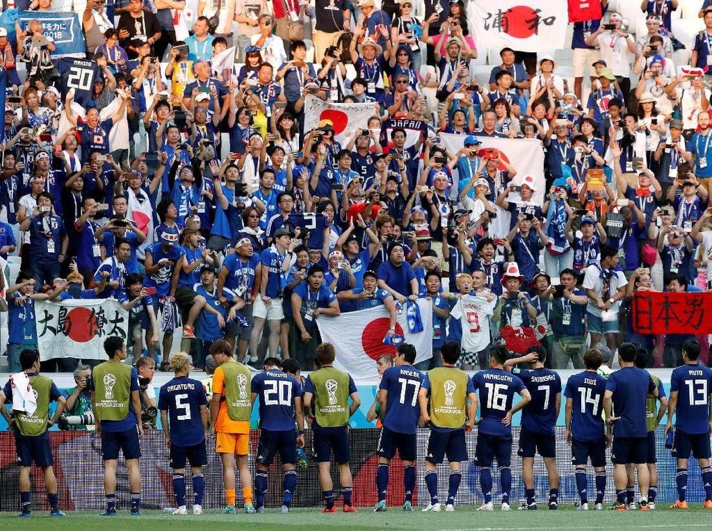 Jepang Lolos 16 Besar, Ini Hasil Tim Asia dalam Sejarah Piala Dunia