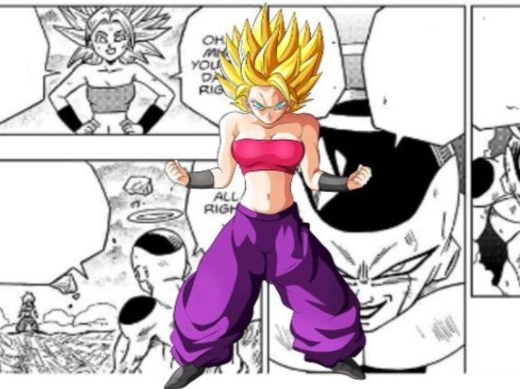 Kontroversi Kekuatan Saiyan Caulifla di Manga Dragon Ball Super